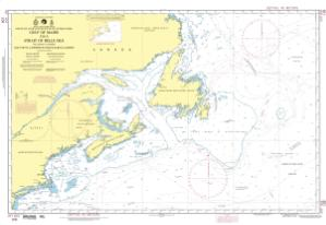 thumbnail for chart Gulf of Maine to Strait of Belle Isle including Gulf of St. Lawrence