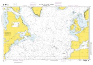 thumbnail for chart North Atlantic Ocean (Northern Part)