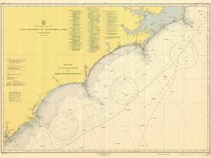 thumbnail for chart NC,1947,Cape Hatteras to Charelston Light
