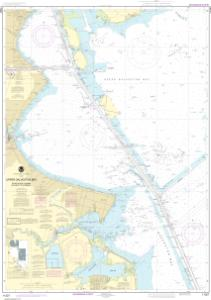 thumbnail for chart Upper Galveston Bay-Houston Ship Channel-Dollar Pt. to Atkinson