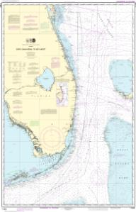 thumbnail for chart Cape Canaveral to Key West