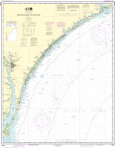 thumbnail for chart New River Inlet to Cape Fear
