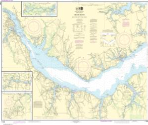 thumbnail for chart Neuse River and Upper Part of Bay River