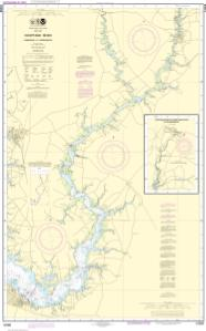 thumbnail for chart Choptank River Cambridge to Greensboro