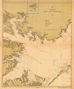 thumbnail for chart NC,1914,Pamlico Sound-Western Part