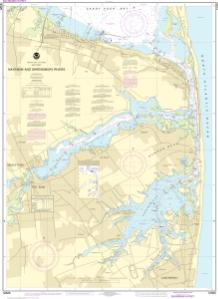 Navesink And Shrewsbury Rivers NOAA Nautical Chart 12325