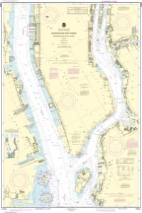 thumbnail for chart Hudson and East Rivers Governors Island to 67th Street