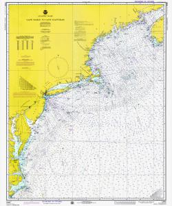 thumbnail for chart MA,1975,Cape Sable to Cape Hatteras