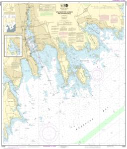 thumbnail for chart New Bedford Harbor and Approaches