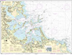Boston Harbor NOAA Nautical Chart 13270 OceanGrafix