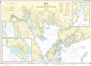 thumbnail for chart Passamaquoddy Bay and St. Croix River; Beaver Harbor; Saint Andrews; Todds Point