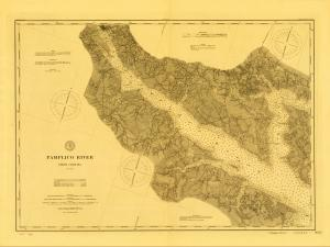 thumbnail for chart NC,1881,Pamlico River