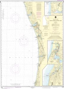 thumbnail for chart South Haven to Stony Lake;South Haven;Port Sheldon;Saugatuck Harbor