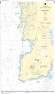 thumbnail for chart South and West Coasts of Kruzof Island