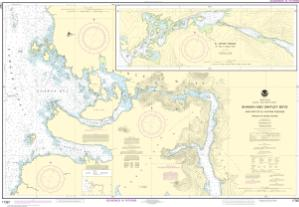 thumbnail for chart Shakan and Shipley Bays and Part of El Capitan Passage;El Capitan Pasage, Dry Pass to Shakan Strait