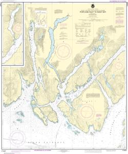 thumbnail for chart Portland Inlet to Nakat Bay