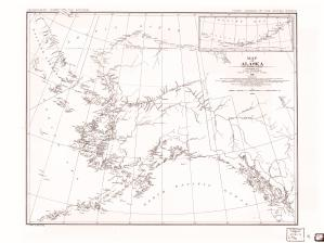 thumbnail for chart AK,1882, Map Of Alaska