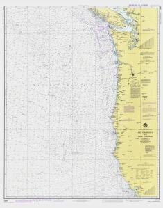 thumbnail for chart CA,1981,San Francisco To Cape Flattery