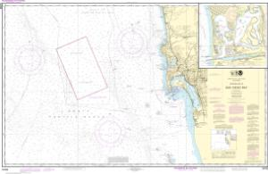thumbnail for chart Approaches to San Diego Bay;Mission Bay