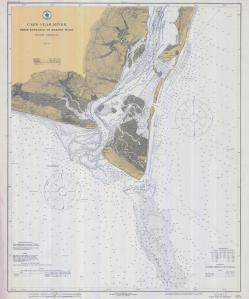 thumbnail for chart NC,1917,Cape Fear River