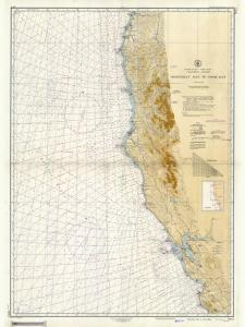 thumbnail for chart CA,1948, Monterey Bay To Coos Bay
