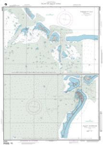 thumbnail for chart Plans of Jaluit (Yaruto) Atoll Northeast Pass and Vicinity