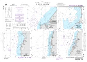 thumbnail for chart Plans on the West Coast of Ostrov Sakhalin A. Aleksandrovskiy Reyd