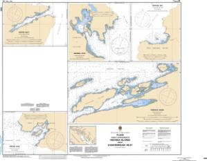 thumbnail for chart Plans - Vicinity of/Proximité de Redonda Islands and/et Loughborough Inlet