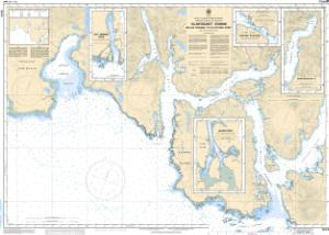 thumbnail for chart Clayoquot Sound, Millar Channel to/à Estevan Point