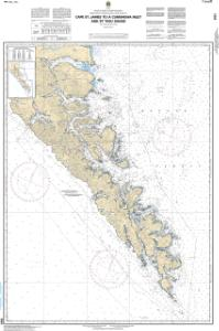 thumbnail for chart Cape St. James to/à Cumshewa Inlet and/et Tasu Sound