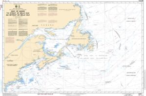 thumbnail for chart Gulf of Maine to Strait of Belle Isle / au Detroit de Belle Isle