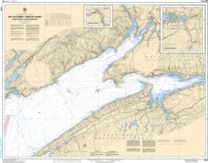 thumbnail for chart Bay of Fundy / Baie de Fundy: Inner portion / partie intérieure