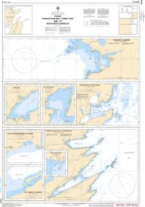 thumbnail for chart Plans, Conception Bay, Trinity Bay and / et Bonavista Harbour
