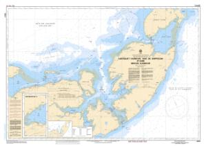thumbnail for chart Caraquet Harbour, Baie de Shippegan and / et Miscou Harbour
