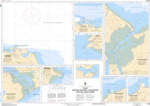 thumbnail for chart Plans: Baie des Chaleurs / Chaleur Bay: Côte sud / South Shore