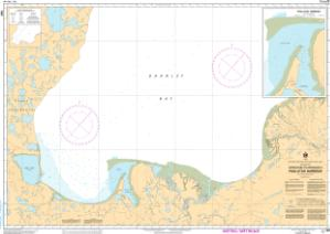 thumbnail for chart Approaches to/Approches à Paulatuk Harbour