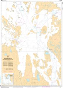 thumbnail for chart Bathurst Inlet - Northern Portion/Partie nord