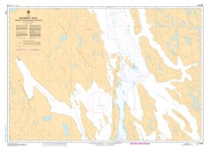 thumbnail for chart Bathurst Inlet - Central Portion