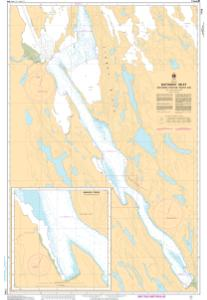 thumbnail for chart Bathurst Inlet - Southern Portion/Partie sud