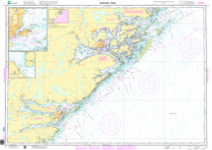 Jomfruland Risr NHS Nautical Chart NHS006 OceanGrafix