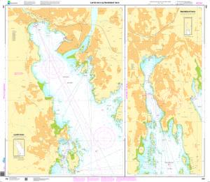 Larvik havn Sandefjord havn NHS Nautical Chart NHS480