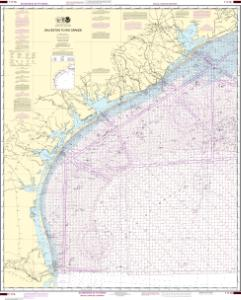 thumbnail for chart Galveston to Rio Grande (Oil and Gas Leasing Areas)