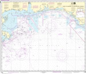 thumbnail for chart Cape St. George to Mississippi Passes