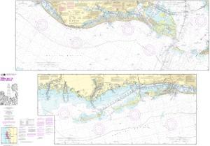 Intracoastal Waterway Tampa Bay to Port Richey | NOAA Nautical Chart ...