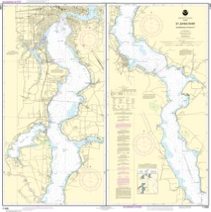 OceanGrafix — NOAA Nautical Chart 11492 St. Johns River ... on saint francis river map, lower john day river map, oregon river map, potomac river map, south branch river map, saint clair river map, salem river map, saint john's florida map, st. louis river map, ice in st. clair river map, saint joe river map, susquehanna river map, st. lawrence river on us map, united states river map, saint lawrence river map, elizabeth river map, st. mary river florida on map, vicksburg river map, saint augustine river map, ohio river map,