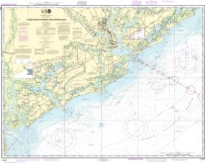 thumbnail for chart Charleston Harbor and Approaches