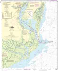 NOAA Chart Winyah Bay 22nd Edition 11532