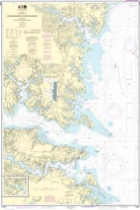 Oceangrafix Noaa Nautical Chart 12235 Chesapeake Bay Rappahannock River Entrance Piankatank And Great Wicomico Rivers