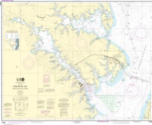 thumbnail for chart Chesapeake Bay Severn and Magothy Rivers