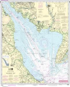 OceanGrafix — NOAA Nautical Chart 12304 Delaware Bay on